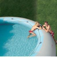 Cheap 2012 ocean inflatable pool slide/ slide with pool (GL-007) for sale