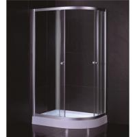 Cheap Oval Shape 1000 X 800 Quadrant Shower Enclosures And Tray With Low Resin Tray for sale