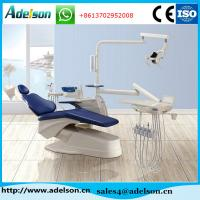 Buy cheap Best type dental chair manufacturers, dental chair unit with glass cuspidor from wholesalers