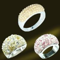 Best Fashion Silver Crystal Jewelry Rings (RSL3397) wholesale