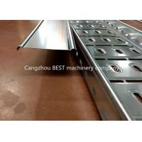 China Full Automatic Cable Tray Roll Forming Machine , Cable Tray Manufacturing Machine on sale