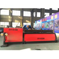 China Three Roll Plate Bending Machine , Industrial Rolling Machine For Aluminum Alloys on sale