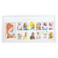Best Nursery Deco My First Year Baby Photo Frame Shadow Box Picture Frame wholesale
