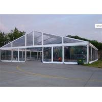 Best 15m * 25m Transparent Water Proof PVC Tent Fabric  Party Tents For Outdoor Activity wholesale