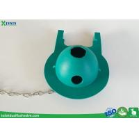 Cheap C0213 Green Color Toilet Rubber Flapper To Repair Leaking Toilet Tank Valve for sale