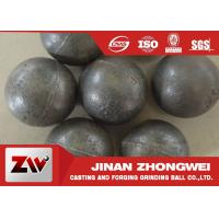 Best 55-65HRC Hardness forged steel grinding ball , ball milling media wholesale