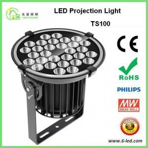 Best IP65 100w Outdoor Building Projection Lighting Aluminum Die Casting Body wholesale