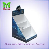 Cheap Customized Paper Pop up Counter Top Display Stands Cardboard PDQ for Books for sale
