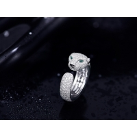 Best luxury jewelry online VS Diamond N4225200 Panthere Cartier Ring With Emeralds Onyx wholesale