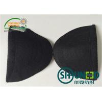 Best Garment Accessories Womens Shoulder Pads White / Black Color For Apparel Industry wholesale