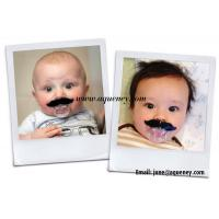 Best Funny Baby Pacifier With Beard Mustache Silicone Soother Nipple Clips Pacifiers wholesale