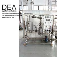 Cheap SS 304 Solvent Recovery Equipment Thin Film Solvent Recycling Machine UL Certification for sale