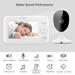 Best Sumond 480P video audio wifi baby monitor lcd baby camera monitor wireless 4.3 inch baby monitor wholesale