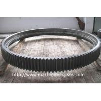 Industrial Custom Large Diameter Gears With Stainless Steel Material
