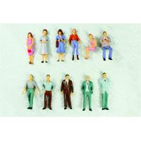 Cheap P50-12 outdoor 1:50 Architectural Scale Model People Painted Figures 4.3cm wholesale