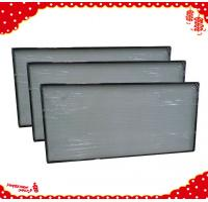 China 915x610x69mm laminar air flow h13 h14 mini pleat hepa air purifier / hepa filters on sale