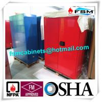 Best Chemical Combustible Storage Cabinets , Industrial Safety Cabinets For Dangerous Goods wholesale