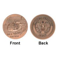 Best Army Air Force Cayuse OH - 6 Collectable Coins , Military Challenge Coins Custom wholesale