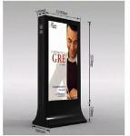 2017-6 Hot Sale Advertising Light Box with Gabage Bin