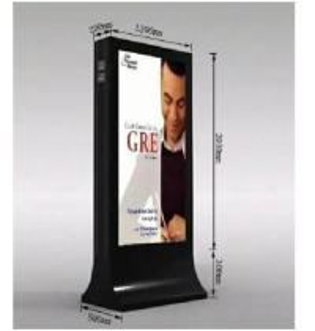 Best 2017-6 Hot Sale Advertising Light Box with Gabage Bin wholesale