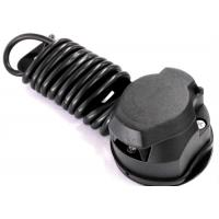 Best Black 7 Way Trailer Electrical Plug Connecting Tow Vehicle To Semi Truck wholesale