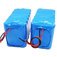 Best 11.1V 10Ah 18650 Rechargeable Lithium Battery 12.6V Charging wholesale
