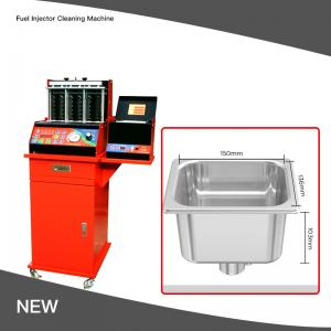 Best LED Display Fluid Ultrasonic Fuel Injector Cleaning Machine 10000RPM wholesale