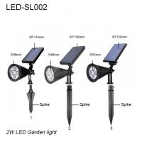 Best 3W IP65 exterior LED solar lawn light & led garden light/led lights for park wholesale