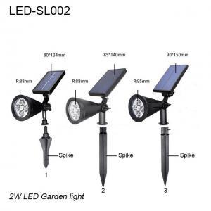 Best 3W IP65 exterior LED solar lawn light & led garden light/led lights for park wholesale