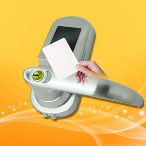 Best Low Voltage Warning Key Card Entry Door Locks , Hotel Card Door Entry Systems wholesale