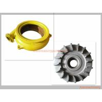 Best Cast Iron Long Wearing Centrifugal Slurry Pump Parts OEM / ODM Availabl wholesale