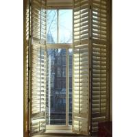 Details of indoor 100 basswood folding shutters for for Cheap windows and doors for sale