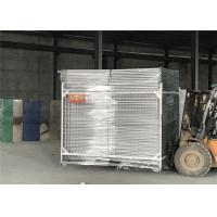 Buy cheap 2.1m x 3.3 m height AS 4687-2007 Australia HDG Construction Site Temporary Fence/Temporary Fencing Panels from wholesalers