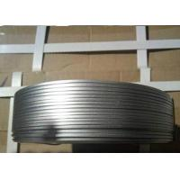Cheap No - Joint Galvanized Flat Wire Anti Corrosion With Low Carbon Steel Q195 for sale