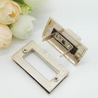 Best Light Gold Handbag Strap Hardware Metal Rotate Lock ROHS Certificate wholesale