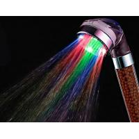 7 Color LED Rain Shower Head That Changes Water Color High Brightness