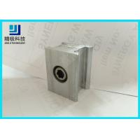 Best Double Connector Aluminum Tubing fitting 6063-T5 Silvery Joints AL-6C wholesale