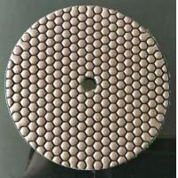 China Dast Speed Red Diamond Floor Polishing Pads For Concrete 180mm Size on sale
