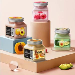 Best 500g Whitening Dead Skin Body Scrub , Natural Fruit Body Scrub wholesale