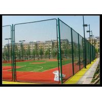 Best Green Color PVC Coated Wire Mesh Fencing Used For Football Sport Court Fence wholesale