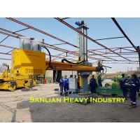 4X4 Heavy Duty Welding Manipulators For Tank Welding With Cross Slide Column And