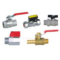 """Best Pneumatic Accessories BV Brass Ball Valve 25bar With Both 1/4"""" Female Thread wholesale"""