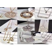 Best Magnificent Custom 18K Gold Jewelry For Wedding / Engagement Ceremony dubai jewelry brands wholesale