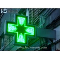 Best 65536 Levels Waterproof Led Pharmacy Sign For Advertisement MBI5020 wholesale