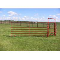 Best PVC Coated Horse Corral Panels / Horse Gate Panels Sturdy And Durable wholesale
