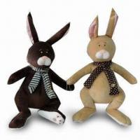 Buy cheap Plush Bunny Toys, 2 Assorted Colors, Available in Various Sizes and Designs, from wholesalers