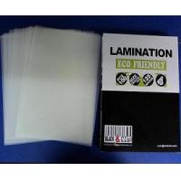China a4 lamination pouches on sale
