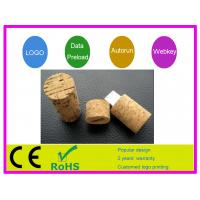 Best Promotional Wine stopper shape1G 4G 16G  Wooden USB Flash Drive AT-101T for  Gift wholesale