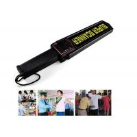 Best 9V Subway / Airport Hand Held Metal Detector Body Scanner High Sensitivity wholesale