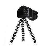 Large Flexible Tripod for SLR, DSLR and compact cameras - Black